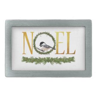 Noel Rectangular Belt Buckle