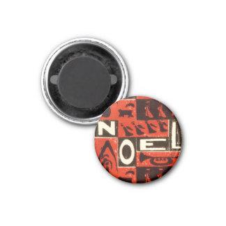 Noel Red Fridge Magnets