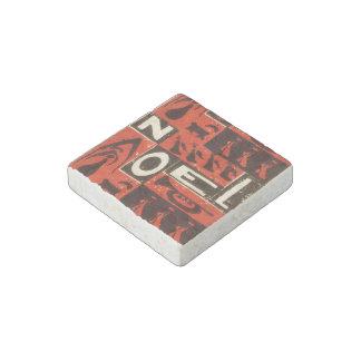 Noel Red Stone Magnet