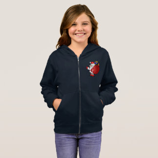 Noel Santa Claus Girls' Boxercraft Practice Jacket