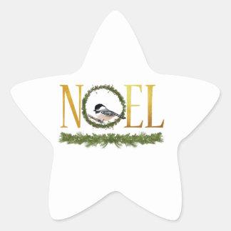 Noel Star Sticker