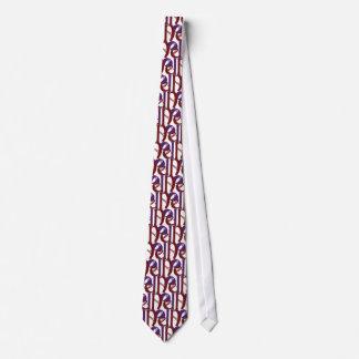 Noel tie - tiled