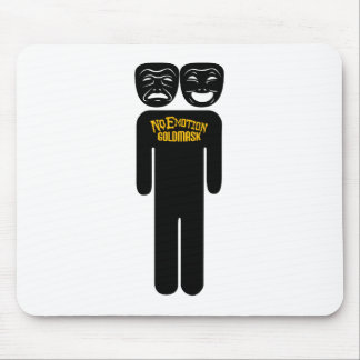 NoEmotion Person Mouse Pad