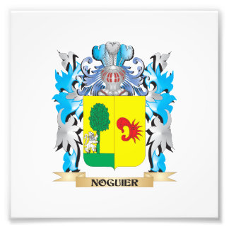 Noguier Coat of Arms - Family Crest Photographic Print