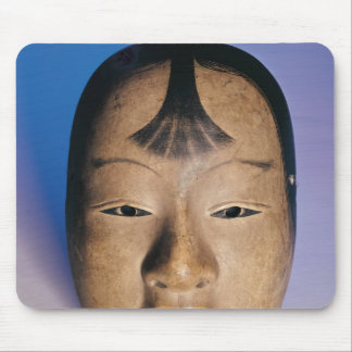Noh theatre mask of a young boy called mouse pad