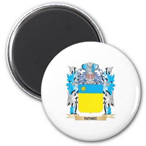 Noire Coat of Arms - Family Crest Fridge Magnet