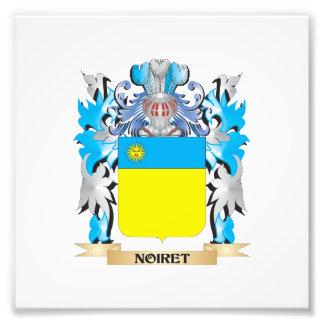 Noiret Coat of Arms - Family Crest Art Photo