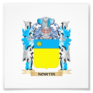 Noirtin Coat of Arms - Family Crest Photo Print