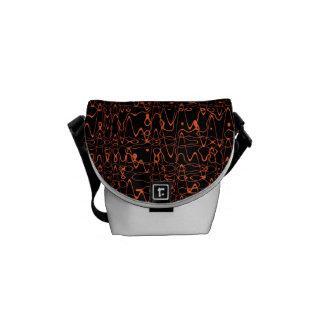 Noise Bag: Orange Commuter Bag