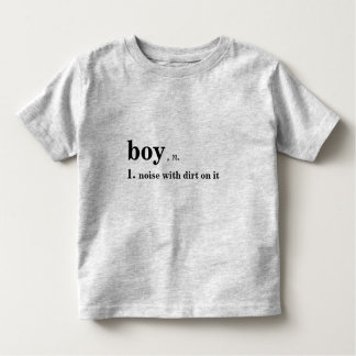 Noise with dirt on it shirt for boys