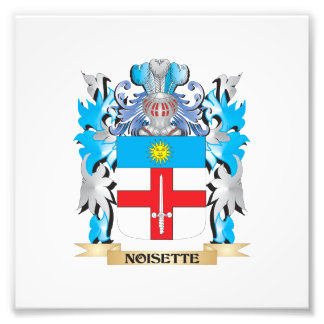 Noisette Coat of Arms - Family Crest Photographic Print