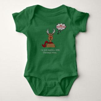 Noisey Rudolph Baby Bodysuit