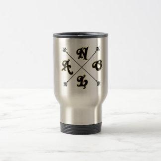 NOLA Cross Code Travel/Commute Mug