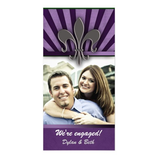NOLA engagement card Custom Photo Card