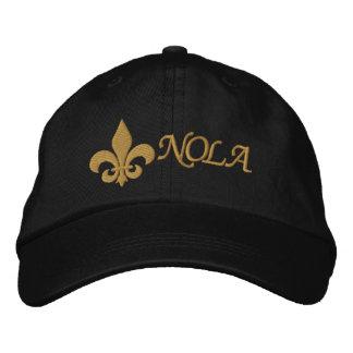 NOLA  - Fleur De Lis Embroidered Baseball Cap