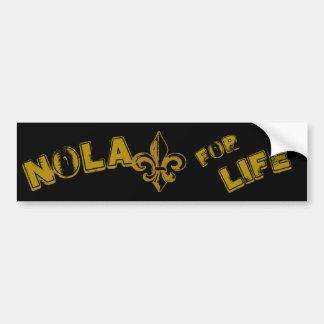NOLA for Life Bumper sticker