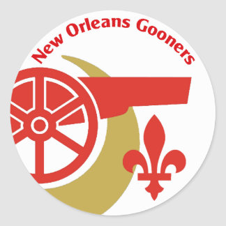 NOLA Gooners Circle Sticker