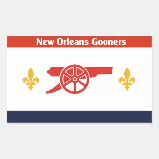 NOLA Gooners Flag Sticker