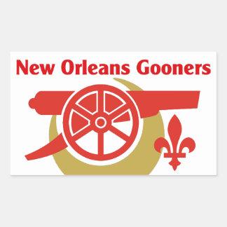 NOLA Gooners Logo Sticker