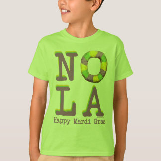 NOLA King Cake gifts T-Shirt