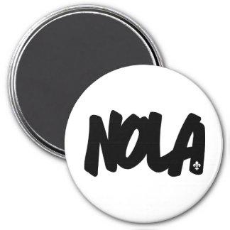 NOLA Letters 7.5 Cm Round Magnet