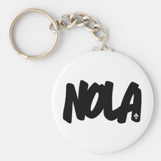 NOLA Letters Key Chain