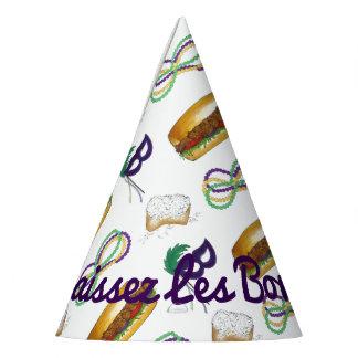 NOLA Mardi Gras Laissez Les Bon Temps Rouler Party Hat