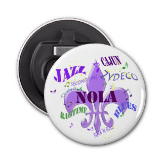 NOLA New Orleans Music Bottle Opener