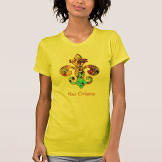 NOLA Painted Fleur de lis (4) T-Shirt