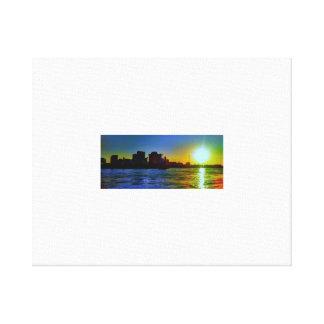 NOLA Sunset Canvas Print