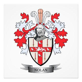 Nolan Coat of Arms Photo Art