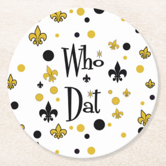 NolaOriginals WHO DAT Party Coasters