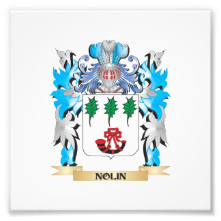 Nolin Coat of Arms - Family Crest Art Photo