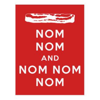 Nom Nom and Nom Nom Nom Postcards