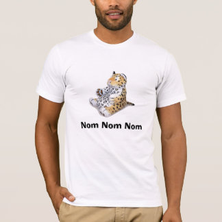 Nom Nom Nom Leopard T-Shirt