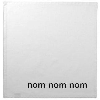 nom nom nom napkin
