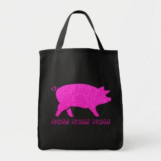 NOM NOM NOM Piggy Tote Bag