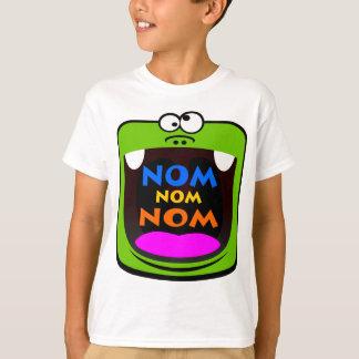 Nom nom nom! t-shirts