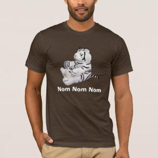 Nom Nom Nom White Tiger Shirt