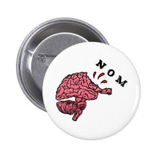 nom pinback button