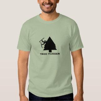 Nomapsneeded.com Tree Hugger T Shirts