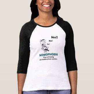 Nomophobia No-Mobile-Phone Women's T-Shirt
