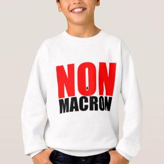 NON à MACRON Sweatshirt