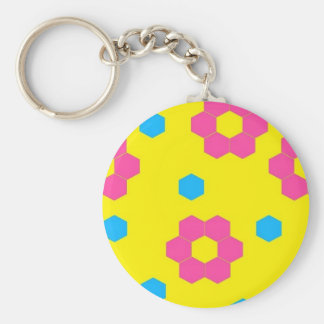 non apparel item basic round button keychain