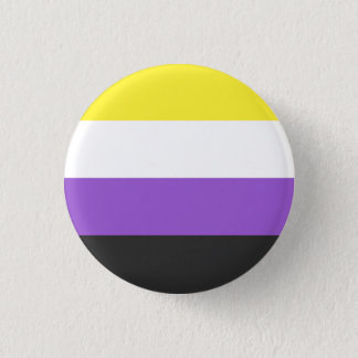 non-binary flag pin