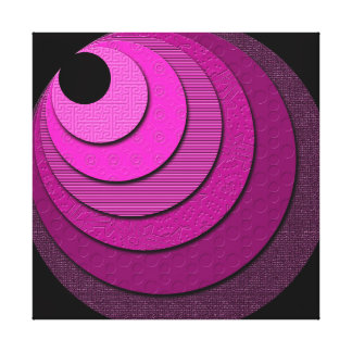 Non-Concentric Circles Canvas Print