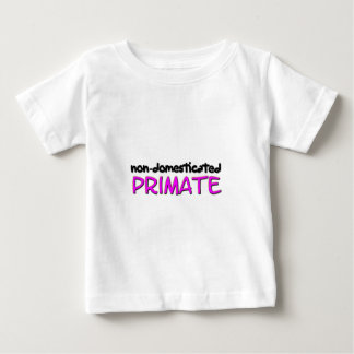 non-domesticated primate (1) baby T-Shirt
