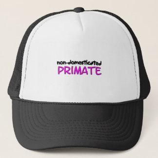 non-domesticated primate (1) trucker hat