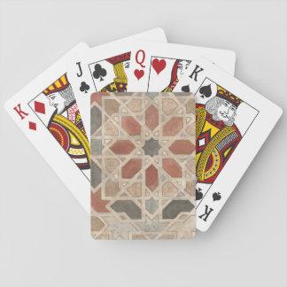 Non-Embellished Marrakesh Design II Playing Cards