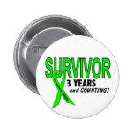 Non-Hodgkins Lymphoma 3 Year Survivor Badge